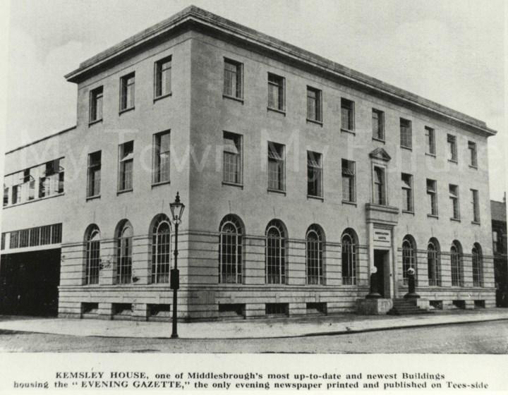 Evening Gazette Office, 1942
