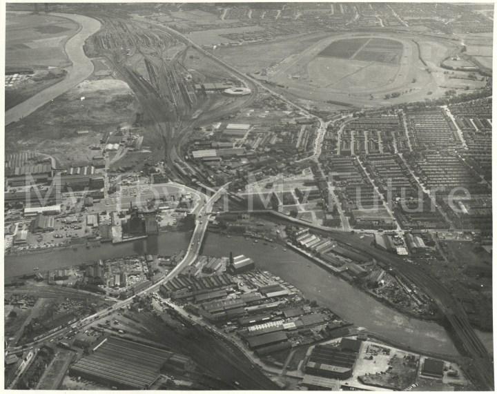 Stockton Racecourse & Thornaby 1968