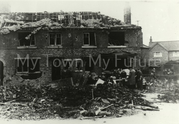 Meadowfield Avenue Grove Hill Bomb Damage 28th August 1940