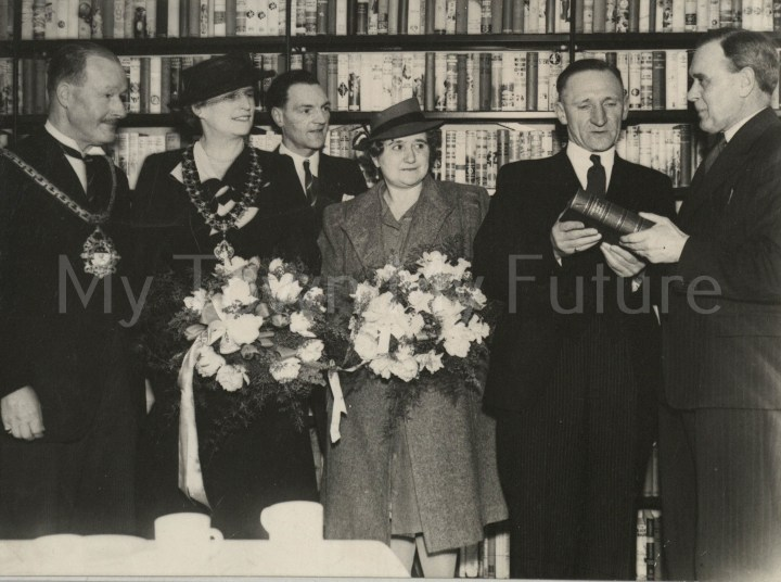 Grove Hill Branch Library Opening (1947).