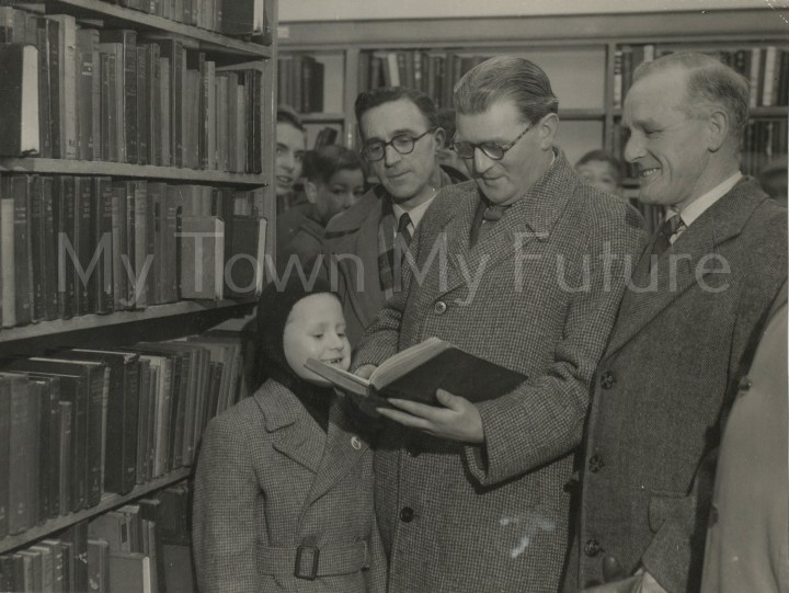 North Ormesby Library Re-Opening, 1953 - Evening Gazette