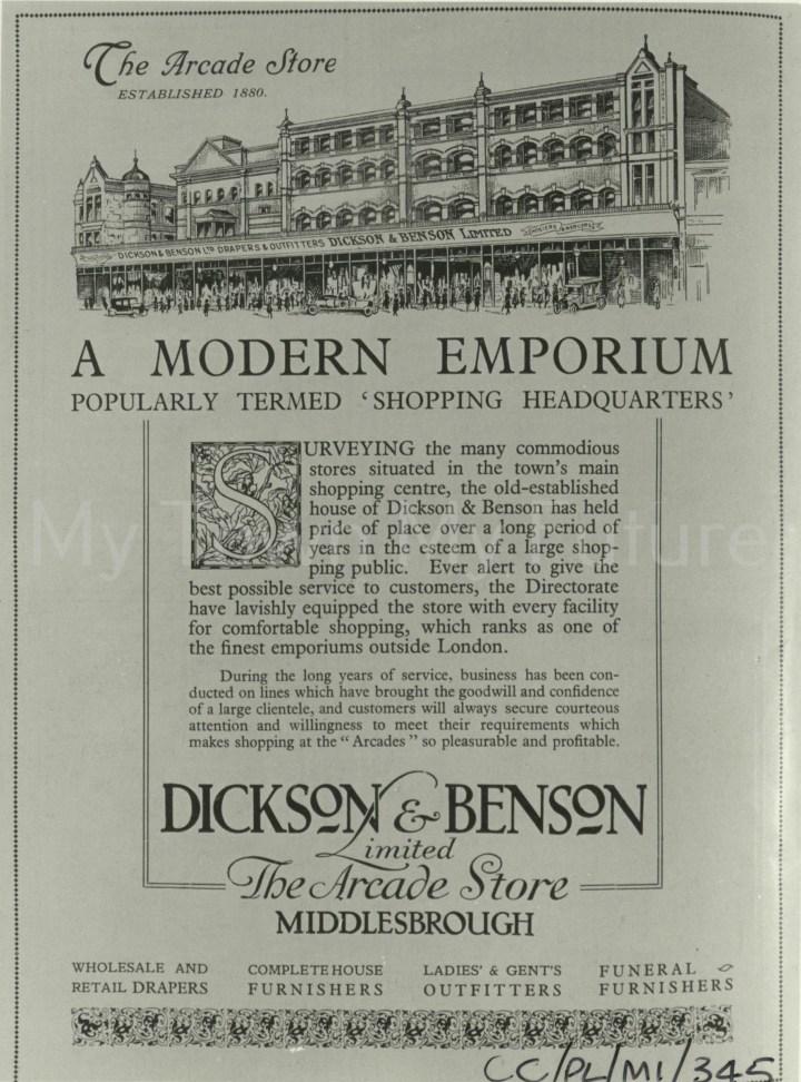 Dickson & Benson Ltd,Linthorpe Road