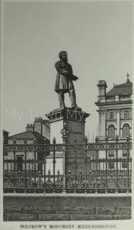 Henry Bolckow's Statue,Exchange Square