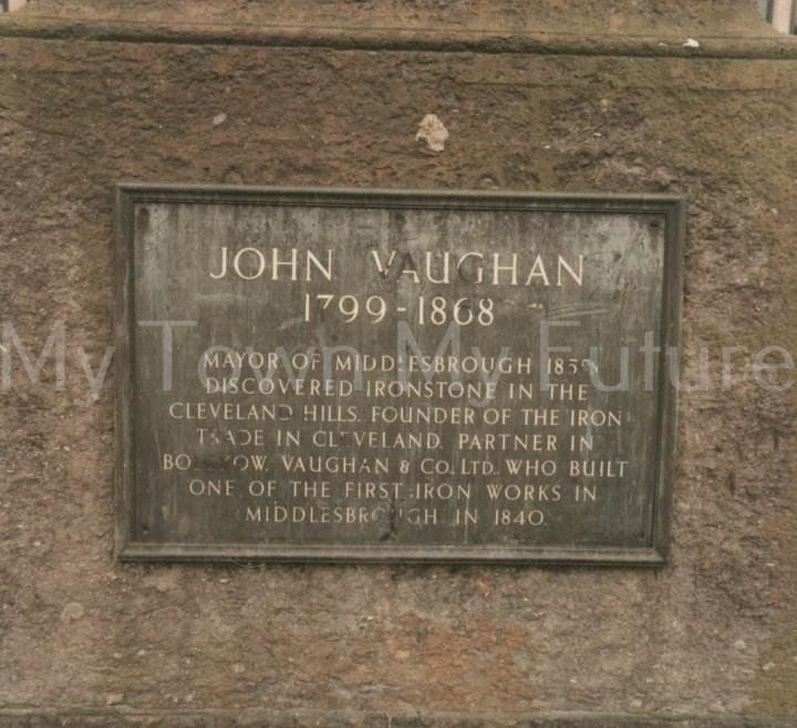 John Vaughan Statue,Victoria Square
