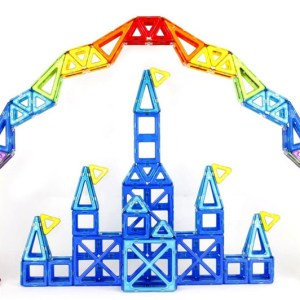 Children Toy Bricks 47pcs 78pcs Magnetic Building Toys 3D Magformers Diy Building <font><b>Block</b></font> Gift Toys