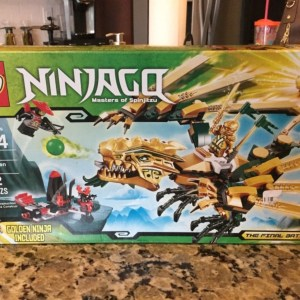 LEGO Ninjago #70503 The Golden Dragon The Final Battle New