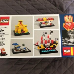 LEGO (40290) 60 Years of the Lego Brick Exclusive! New Sealed Promo Set MINT