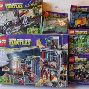 Lego Teenage Mutant Ninja Turtles Lot of 6