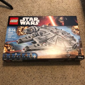LEGO Star Wars Millennium Falcon 2015 (75105) Brand NEW MISB