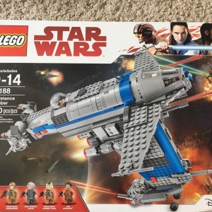 LEGO Star Wars Resistance Bomber 2017 (75188) BRAND NEW IN BOX