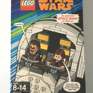 SDCC 2018 Lego Millennium Falcon Cockpit Han Solo Chewbacca Star Wars IN HAND