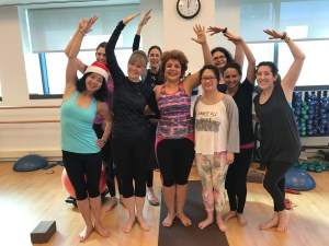 Group Yoga Classes with shari