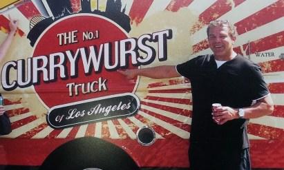 Currywurst Truck in Kalifornien
