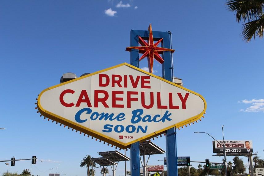 Wo steht das Las Vegas Schild