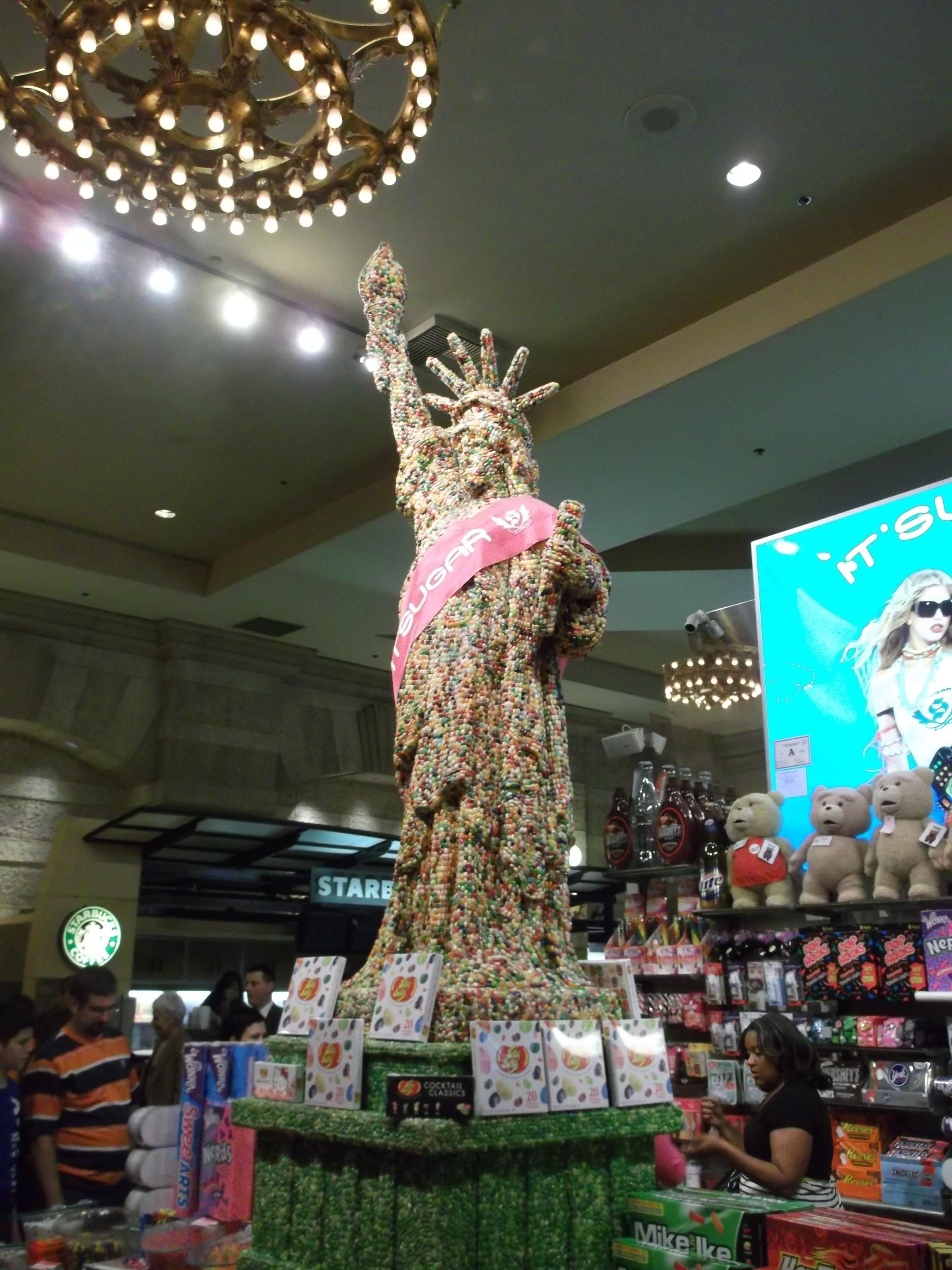 Süßigkeiten und Süßes in Amerika