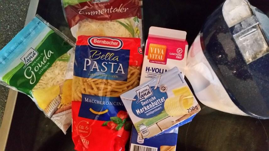 Wie macht man Mac and Cheese in den USA
