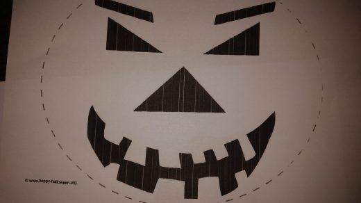 Kürbis für Halloween