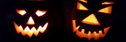 Kürbis für die Halloweendeko
