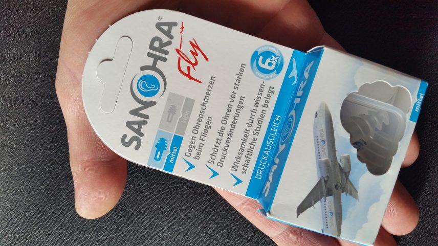 Ohrenschmerzen beim Fliegen