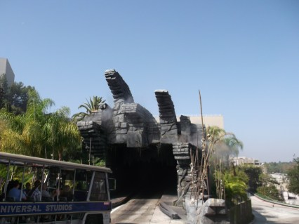 Studio Tour in den Universal Studios Hollywood