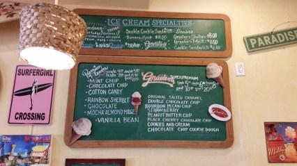 Malibu yogurt and ice cream