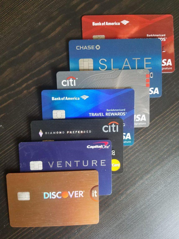 Warum braucht man so viele Kreditkarten in den USA