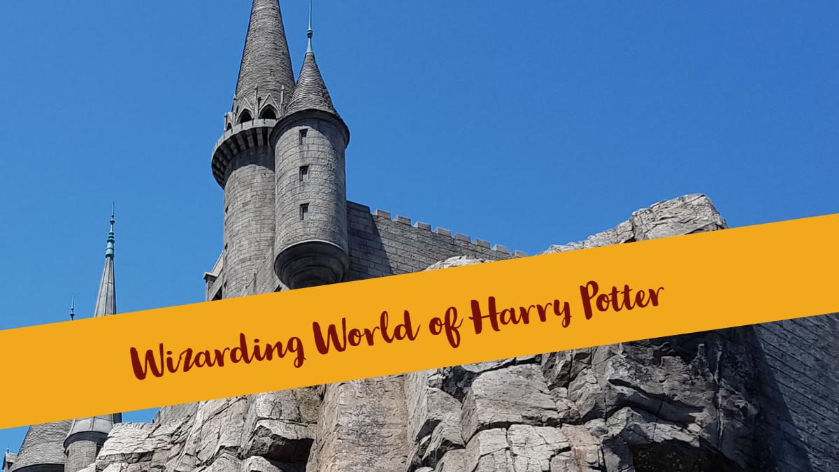 Wizarding World of Harry Potter Universtal Studios Hollywood!