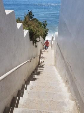Weg zum Latigo Beach