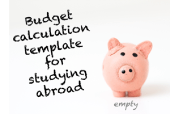 Study abroad calculation template_empty