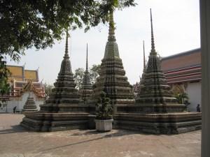 Fleuve Mékong et le Temple Wat Pho