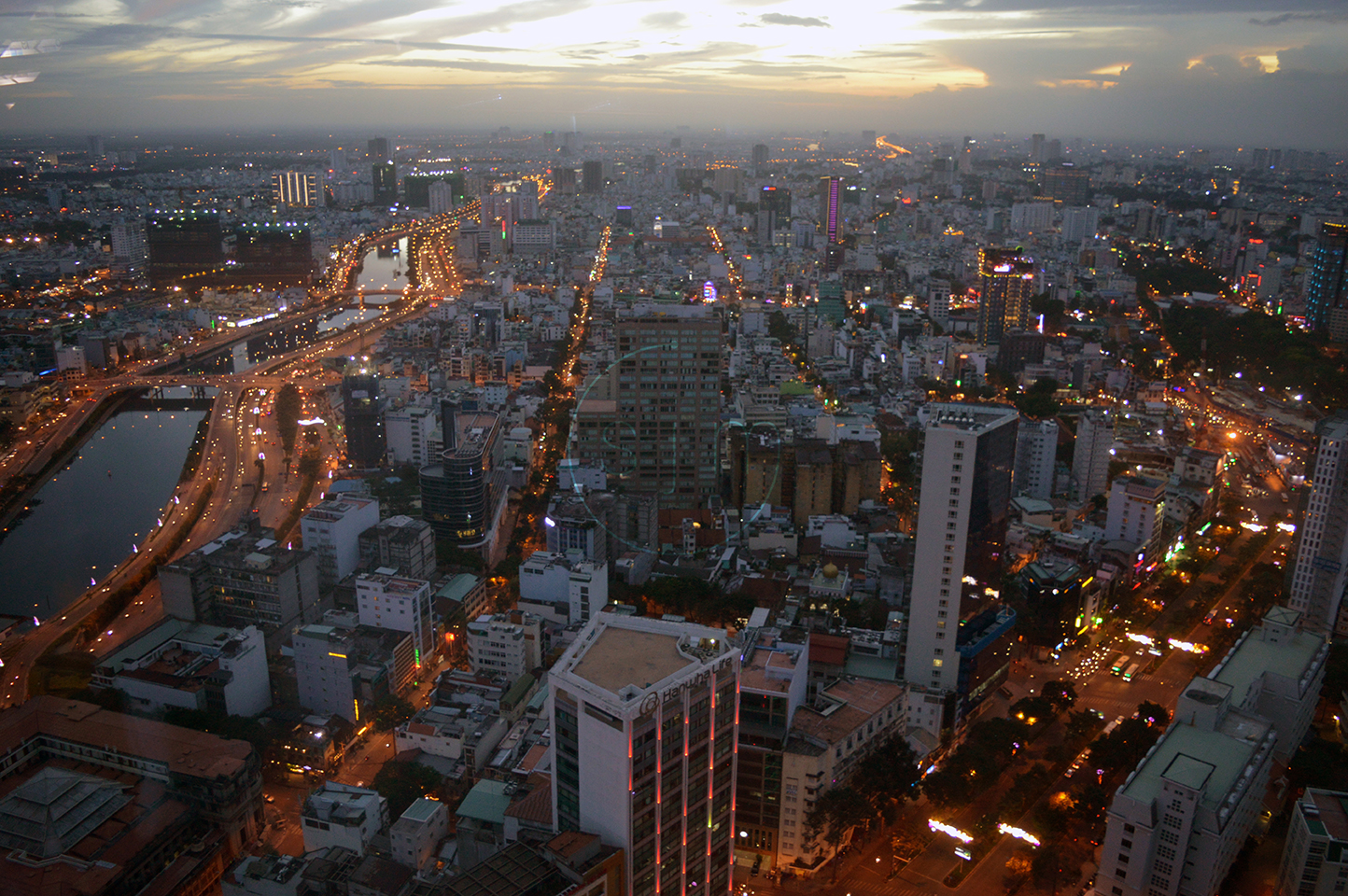 View of Ho Chi Minh City from the Bitexco Financial Tower