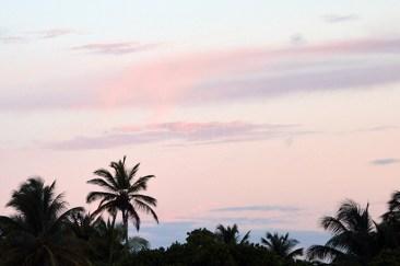 Sky Opposite of Sunrise