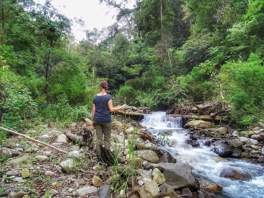 reis door Sumatra