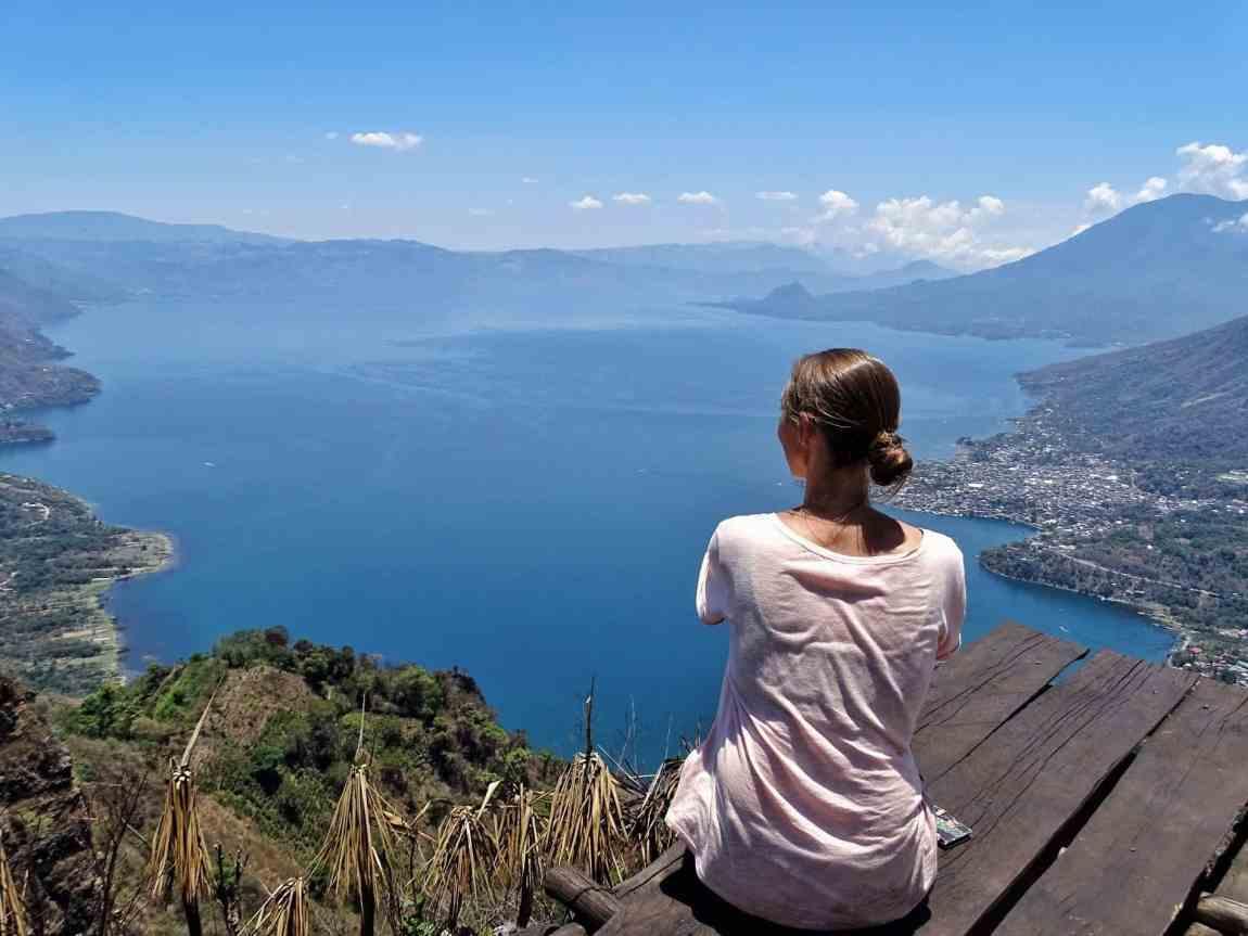 Indian Nose Lake Atitlan