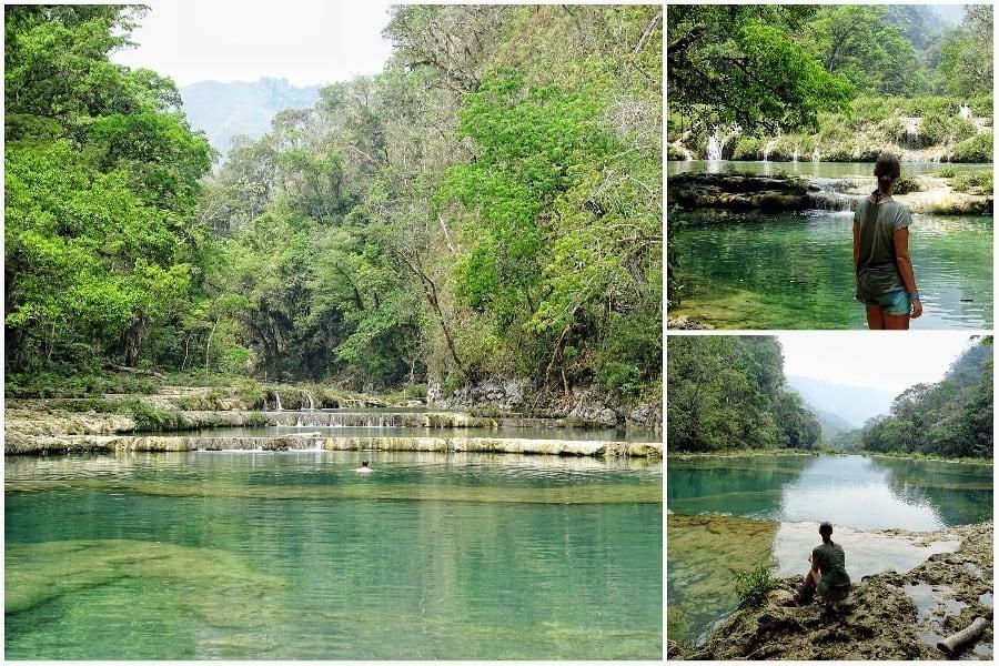 Guatemala reisroute
