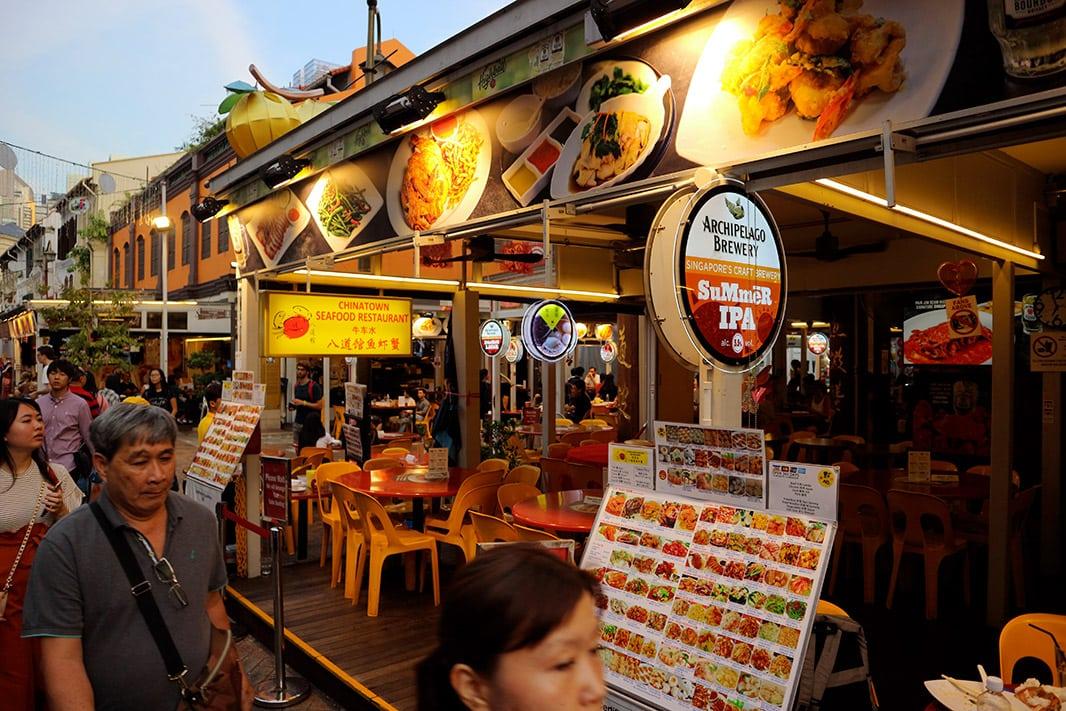 dove mangiare a singapore, chinatown