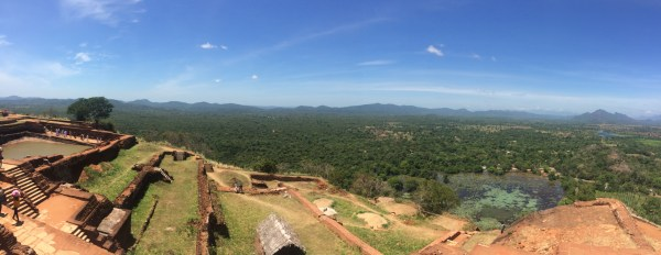 From top of Sigiriya Rock