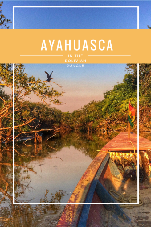 Ayahuasca in the Bolivian jungle - boat into the jungle