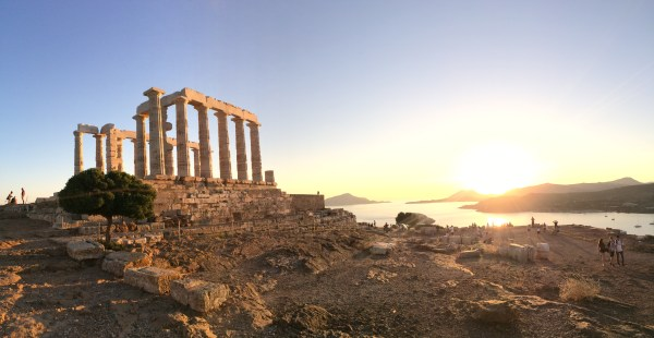 Discover the best of Athens - temple of poseidon