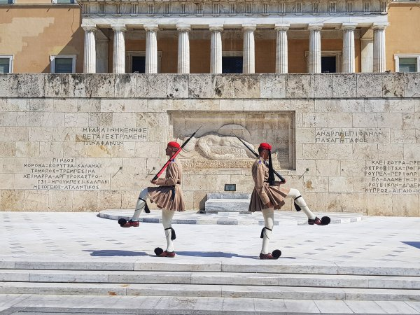 the best of Athens - what to do and see | change of guards