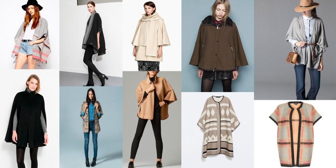 Tendencias de temporada capa manta tiendas