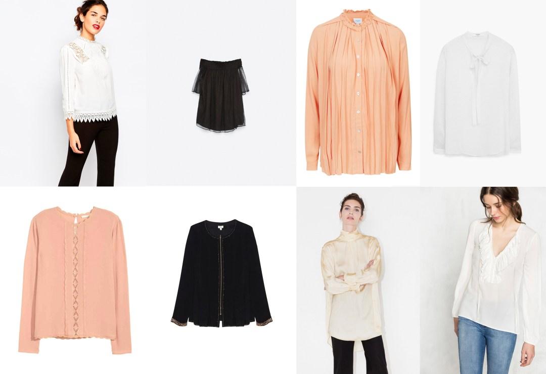 Tendencias de temporada blusa victoriana tiendas