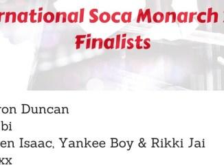 International Soca Monarch 2018