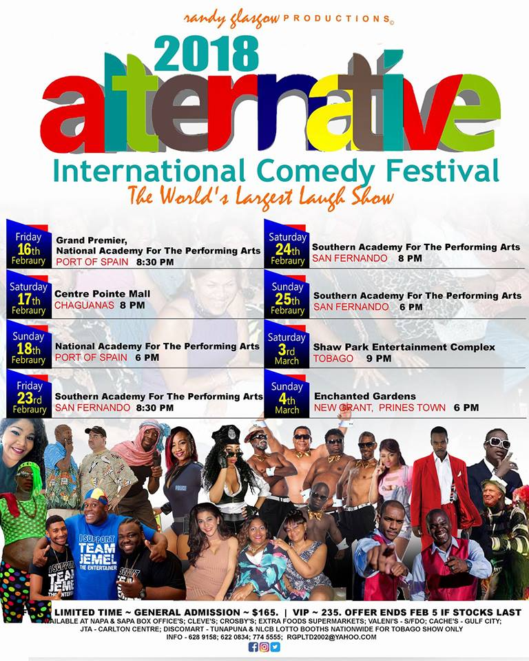 alternative comedy festival 2018