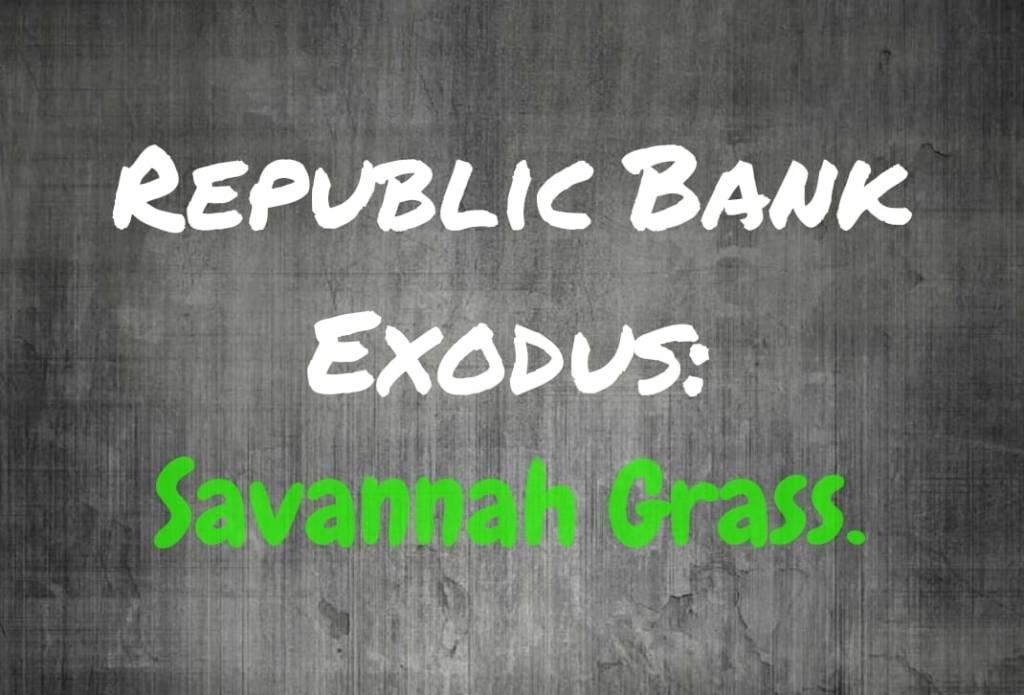Exodus – Change to Savannah Grass – My Trini Lime