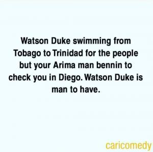 Watson Duke man to have