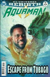 Aquaman Escape from Tobago