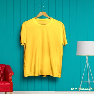 Yellow Plain t shirt