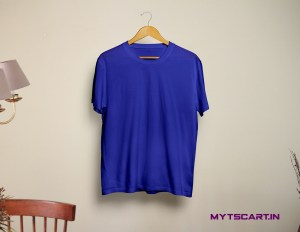 royal blue plain tshirt