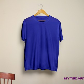 royal blue plain tees